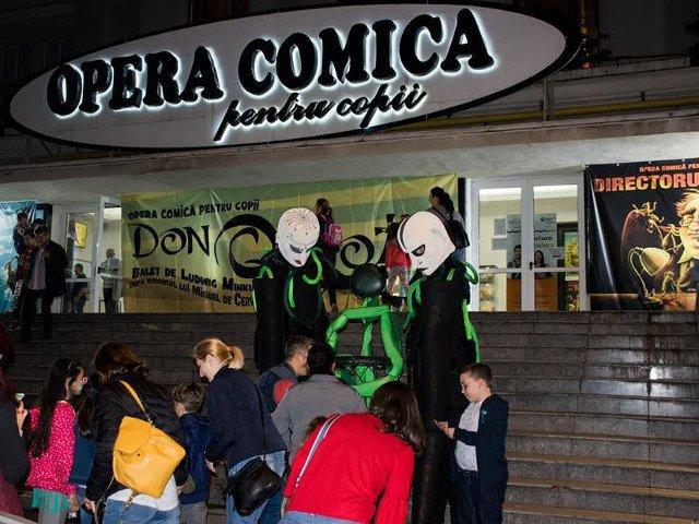 Activitati pentru 1180 de spectatori, la Noaptea Muzeelor de la Opera Comica pentru Copii