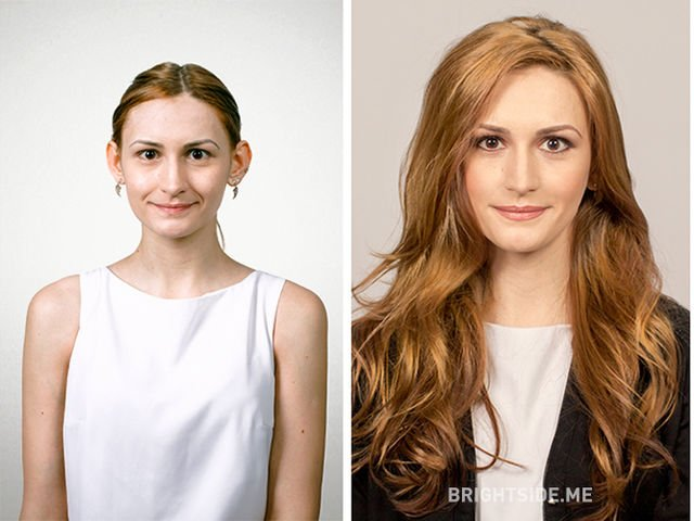 Machiajul face minuni! 7 persoane banale transformate total prin make-up
