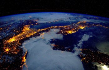 Cum arata lumea de sus: luminile Pamantului, vazute din spatiu