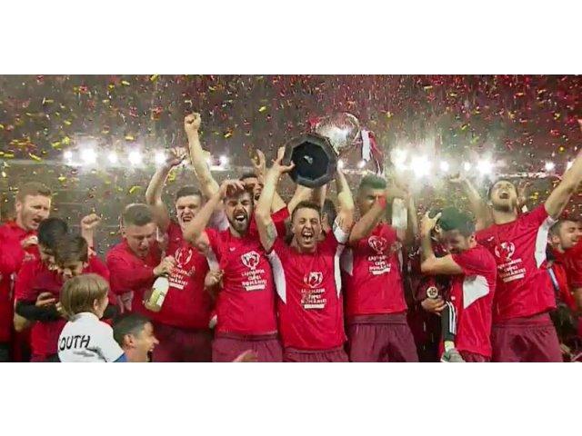 FC Voluntari a invins Astra, scor 6-4 si a castigat Cupa Romaniei pentru prima oara