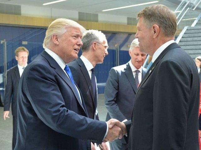 Presedintele Klaus Iohannis isi incepe vizita in SUA. Va fi primit de Donald Trump