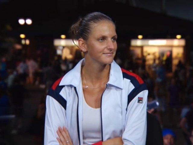 Pliskova: As fi batut 99% din fete cu tenisul pe care l-am jucat