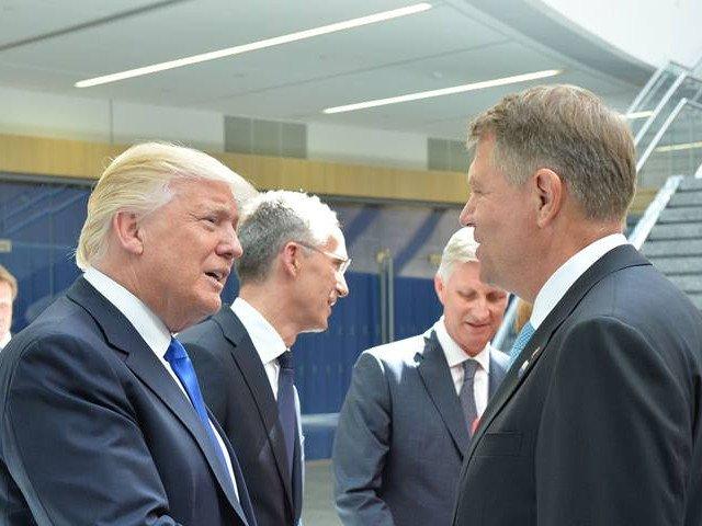Trump si Iohannis vor tine o declaratie de presa comuna