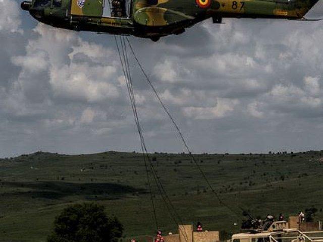 Video: Cum se mobilizeaza trupele NATO daca Romania este atacata? Noble Jump 2017