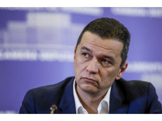 Sorin Grindeanu il demite pe seful SGG si l-ar putea inlocui cu Victor Ponta