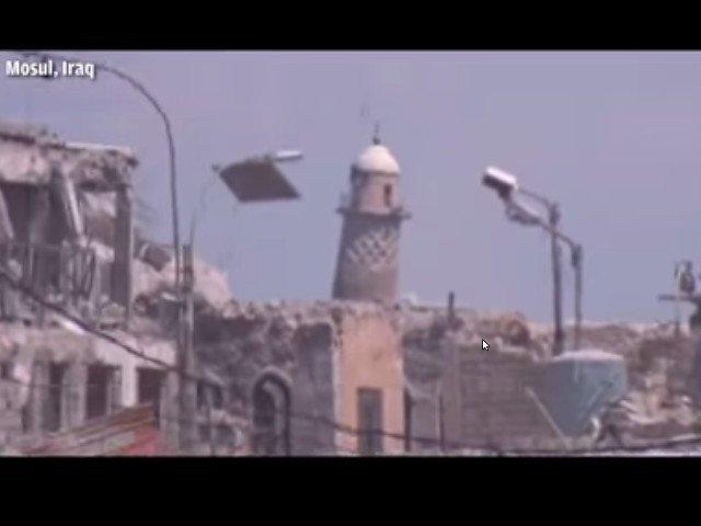 ISIS dinamiteaza moscheea din Mosul, in care si-a proclamat califatul