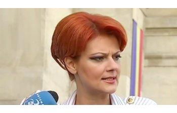 Lia Olguta Vasilescu: Mihai Tudose va avea obligatia sa ne arate ca nu are dubla comanda; ne-a spus ca singura comanda e la PSD