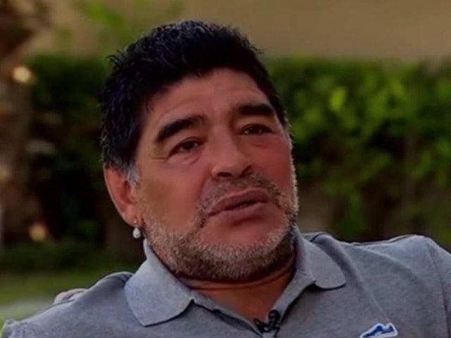 Maradona, acuzat de hartuire sexuala de o jurnalista din Rusia