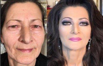 10 femei schimbate complet dupa ce au fost machiate de un profesionist