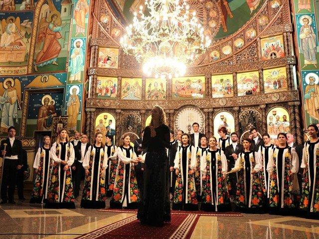 Corul Madrigal sustine un concert la Biserica Evanghelica din Cristian