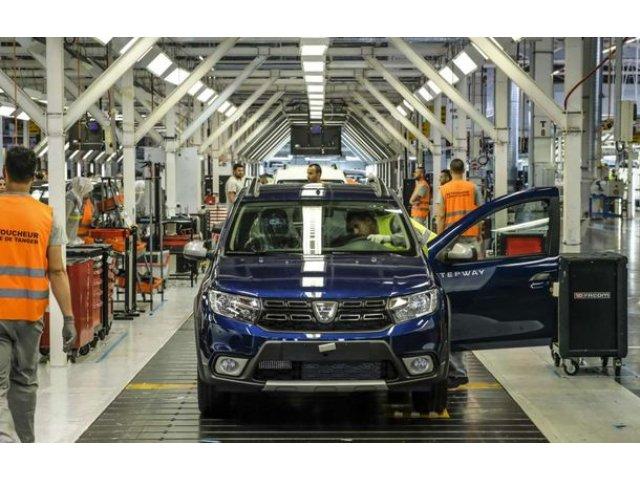 Sarbatoare in Tanger: uzina marocana a produs un milion de masini Dacia