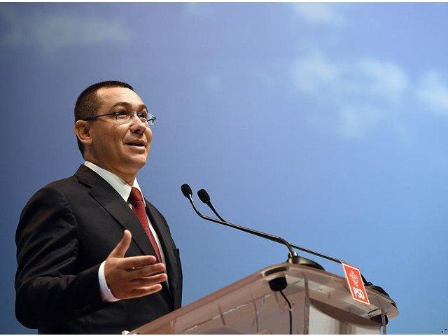 Victor Ponta: Incep sa sper ca premierul Tudose chiar va conduce el Guvernul