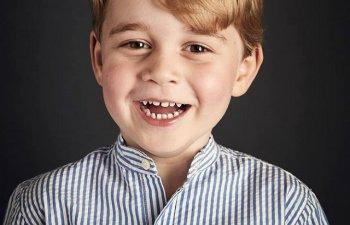 Sarbatoare in Familia Regala a Marii Britanii. Printul George implineste patru ani