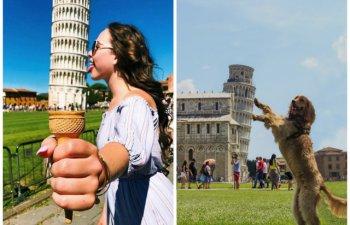 10 imagini creative si extrem de haioase cu Turnul din Pisa