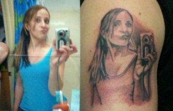 Ce-a fost in capul lor? 10 tatuaje esuate... dar foarte amuzante