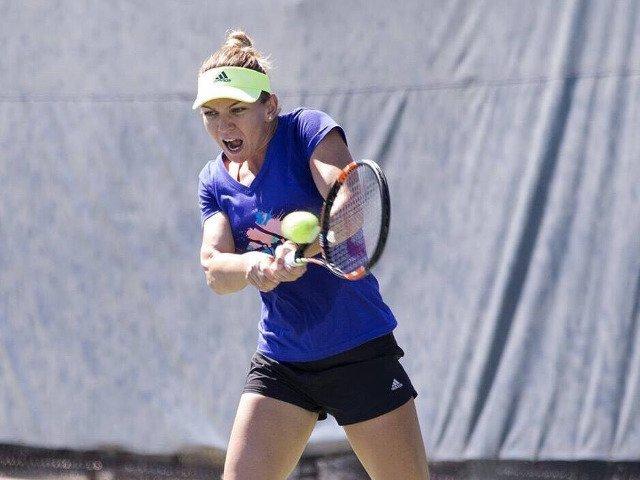 Simona Halep a abandonat in sferturile de finala de la Washington