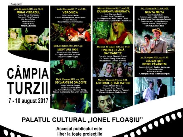 Proiectii cu filme romanesti in cadrul Zilelor Municipiului Campia Turzii