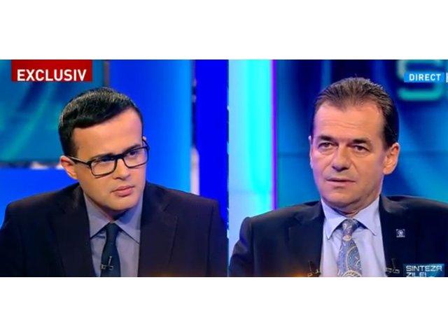 "Contre intre Ludovic Orban si Mihai Gadea, la Antena 3: ""Sunteti penibil, domnule Orban!"" / VIDEO"