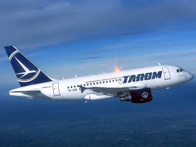 Un avion TAROM a suferit o avarie la aterizare pe aeroportul din Timisoara