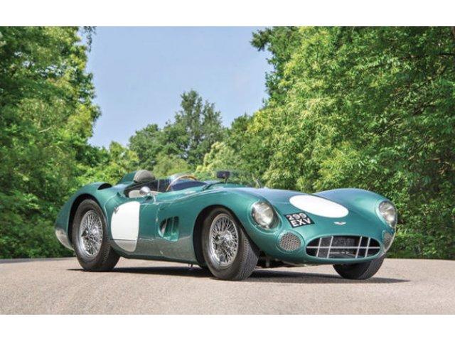 Un Aston Martin DBR1 pilotat de Stirling Moss a devenit cea mai scumpa masina britanica din lume: 19 milioane de euro