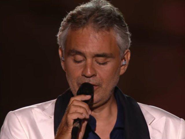Tenorul Andrea Bocelli, spitalizat dupa ce a cazut de pe cal si a suferit o lovitura la cap