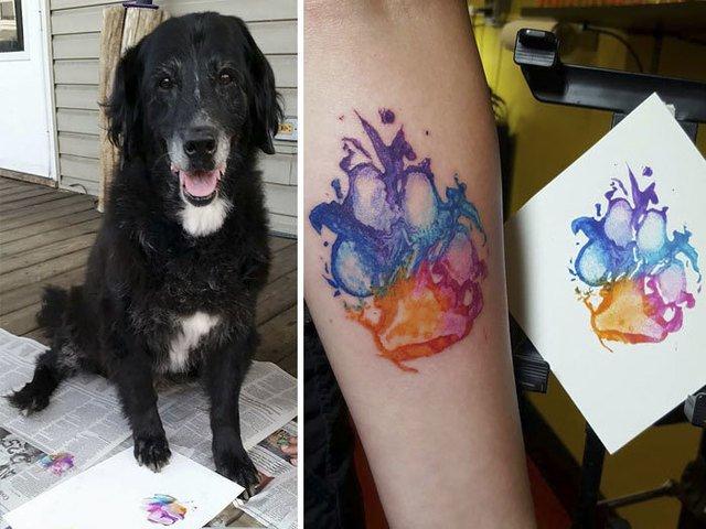 Stapani care isi iubesc cu adevarat cainii: 10 tatuaje adorabile