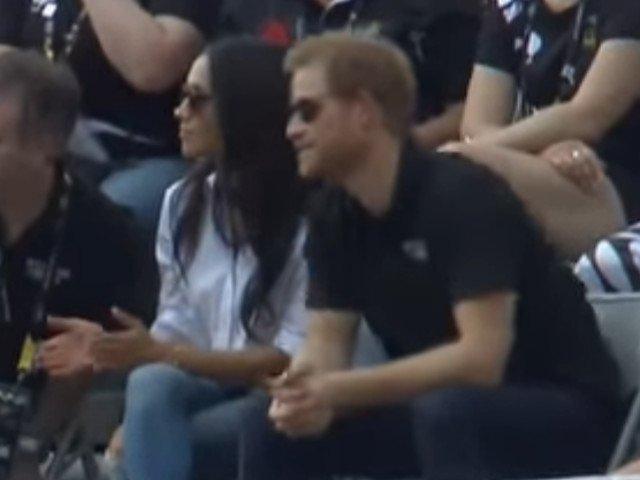 Printul Harry si Meghan Markle, impreuna la finala Jocurilor Invictus