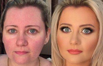 Machiajul chiar face minuni. 10 femei transformate complet dupa ce au trecut prin mainile unui make-up artist