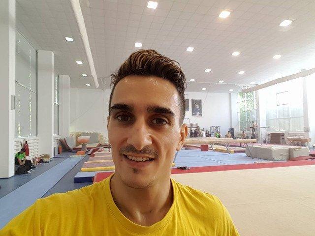 Marian Dragulescu, singurul gimnast roman calificat intr-o finala, la sarituri, la CM de la Montreal