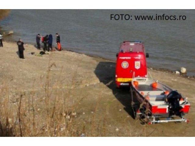 Caras-Severin: O masina in care se afla patru persoane, intre care un copil, a cazut in Dunare