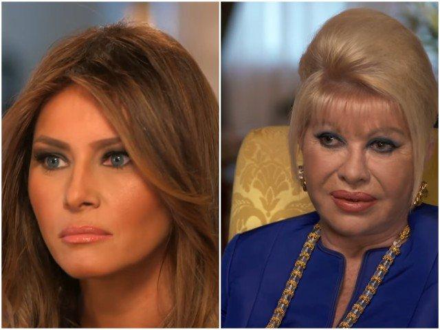 Schimb de replici acide intre Melania Trump si Ivana Trump
