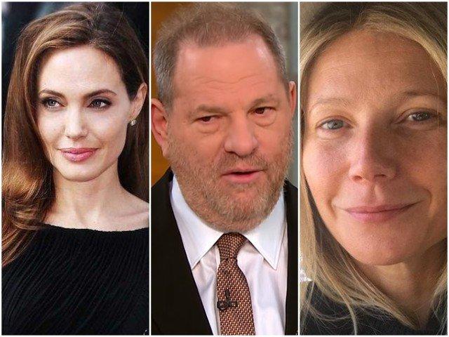 "Weinstein, acuzat de viol. Gwyneth Paltrow si  Angelina Jolie sustin ca au fost hartuite. Sotii Obama, ""dezgustati"" de scandal"