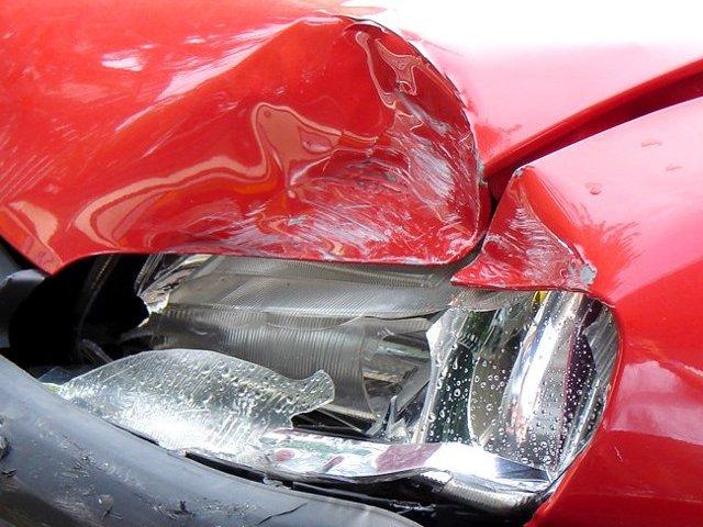 Sibiu: Doua autovehicule s-au ciocnit pe autostrada, dupa ce soferul unei masini a facut infarct la volan