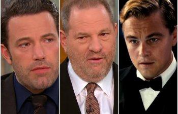 Harvey Weinstein, parasit de sotie, in urma acuzatiilor de hartuire sexuala si viol. DiCaprio si Affleck condamna comportamentul producatorului