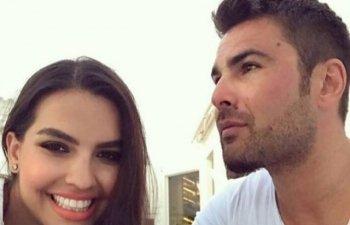 Adrian Mutu si-a botezat fiul de sase luni si s-a casatorit religios cu Sandra Bachici