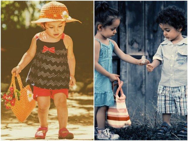 10 imagini care ilustreaza ca, intr-adevar, copiii imita comportamentul adultilor