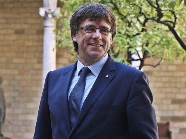 Carles Puigdemont s-a predat politiei belgiene