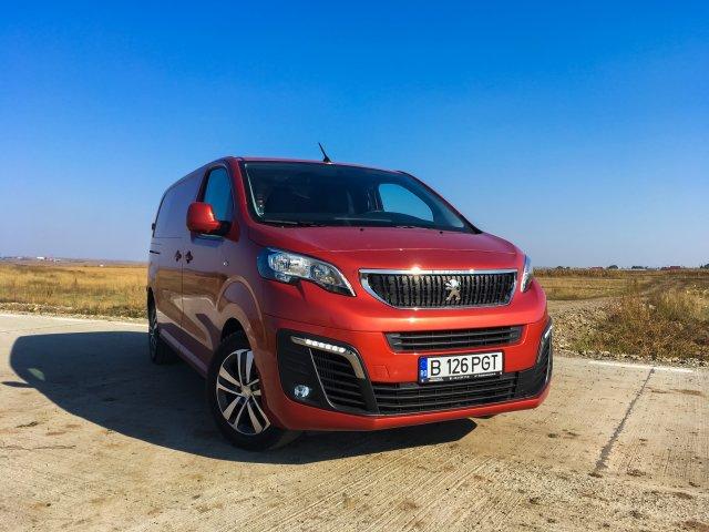 Peugeot Expert - un altfel de test-drive