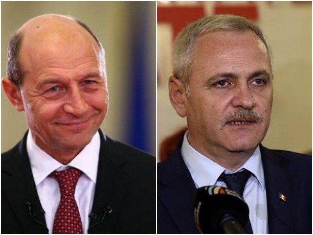 """Traian Basescu il indeamna pe Liviu Dragnea sa demisioneze din Parlament: """"Ce zici, ai curaj?"""""""