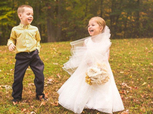 Visul unei fetite de 5 ani, inainte de a se opera la inima: sa se casatoreasca cu cel mai bun prieten