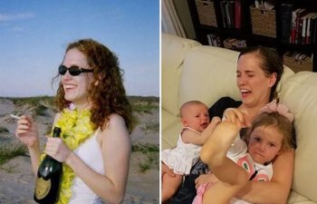 10+ imagini cu parinti care arata cat de mult se schimba viata dupa aparitia copiilor
