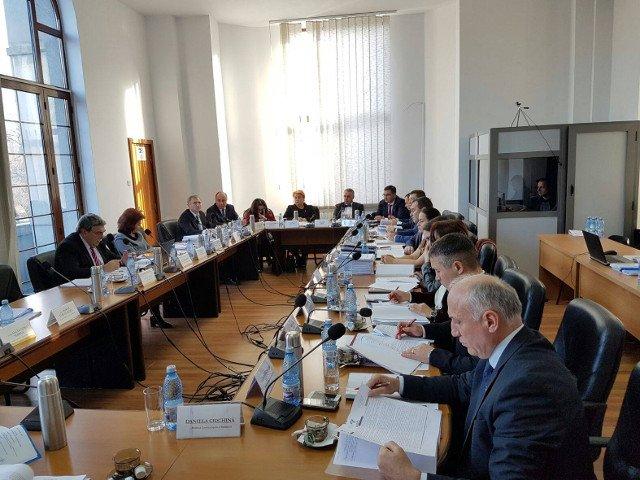 Sectia pentru procurori a CSM discuta raportul Inspectiei Judiciare privind controlul la Parchetul General