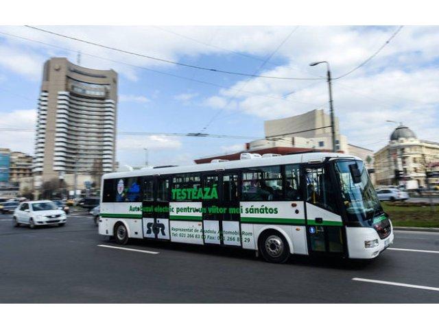 Proiect de lege: Firmele de transport public, private si de stat, vor fi obligate sa cumpere masini electrice, hibride, alimentate cu hidrogen sau gaz