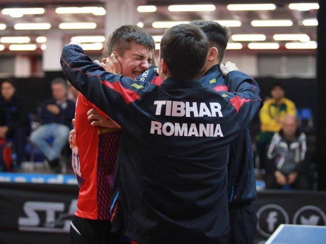 Victorie istorica pentru echipa de juniori a Romaniei la Campionatul Mondial de tenis de masa