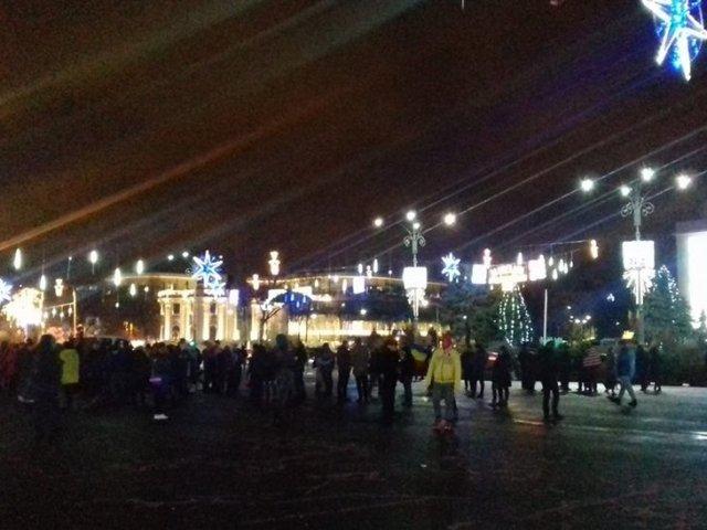 Noi proteste antiguvernamentale in Capitala si in tara