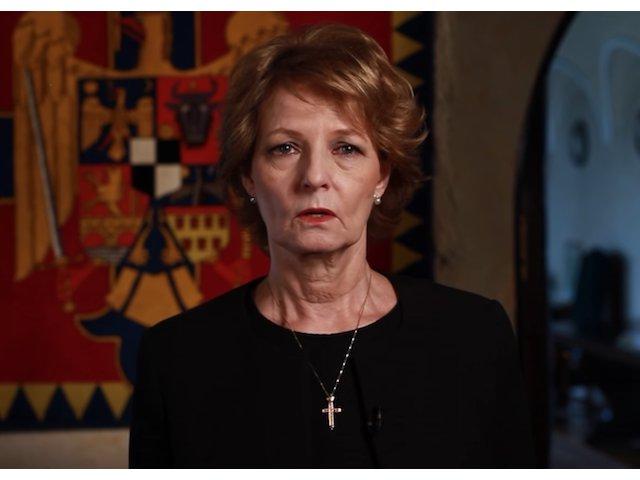 Principesa Margareta: Am pierdut, ca voi toti, un parinte / VIDEO