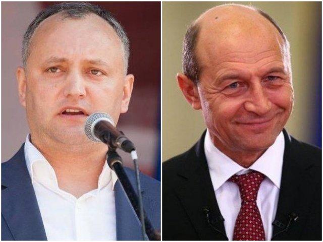 Igor Dodon: Exista solicitari de declarare persona non grata a lui Traian Basescu