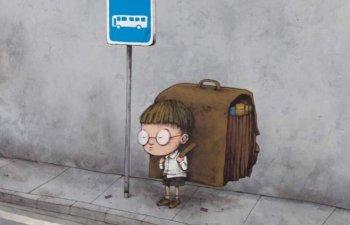 10+ ilustratii controversate care descriu defectele societatii de astazi