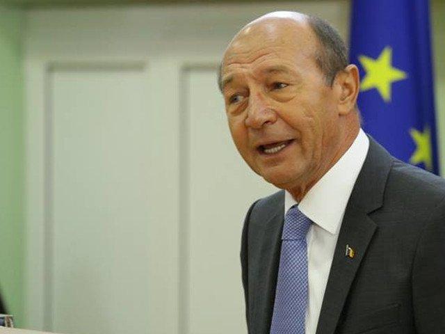 Basescu: Alianta PSD - ALDE impinge din nou Romania intr-o zona gri a Uniunii Europene