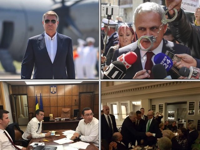 Politicienii anului 2017, in imagini. 9 fotografii din Romania pe care nu le vom uita prea curand